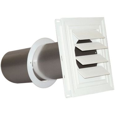 4 Quot Louvered Vent Hood For Vinyl Siding And Stucco