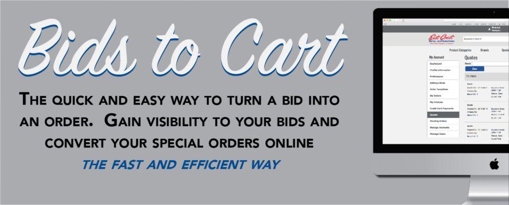Bids to Cart