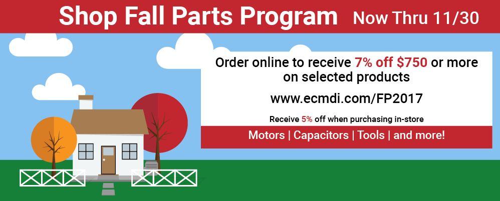 Fall Parts Program
