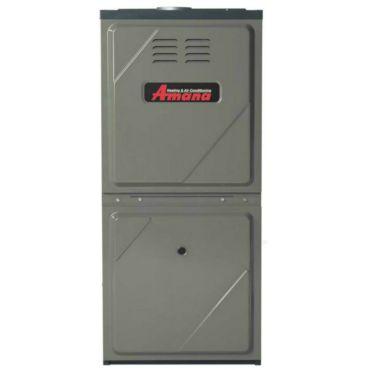 Amana Ams Series Gas Furnace 80 Afue 80k Btu Upflow Horizontal 21 Quot Cabinet Width
