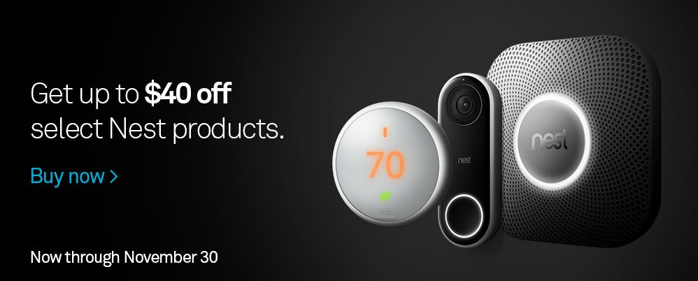 Nest Black Friday Sale