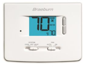 Builder Series Non-Programmable Thermostat - 1 Heat/ 1 Cool