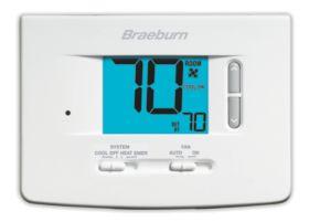 Braeburn® Economy Series 2 Heat/2 Cool Non-Programmable Thermostat