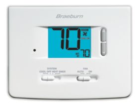 Builder Series Non-Programmable Thermostat - 2 Heat/ 1 Cool