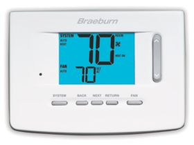 Braeburn® Premier Series 1 Heat/1 Cool Non-Programmable Thermostat