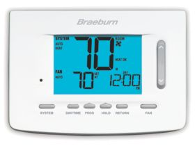 Braeburn® Premier Series 1 Heat/2 Cool 7 Day Programmable Thermostat