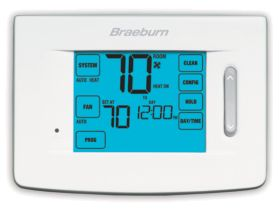 Braeburn® Premier Series Touchscreen 4 Heat/2 Cool 7 Day Programmable Thermostat