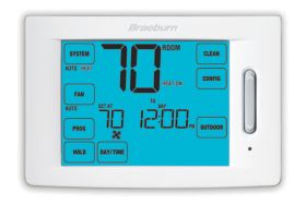 Braeburn® Deluxe Touchscreen 4 Heat/2 Cool Programmable Thermostat