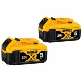 DeWalt® 20V Max 5.0 Ah Li-Ion Battery - 2 Pk