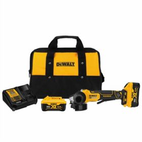 """DeWalt® 4.5"""" 20V Paddle Switch Small Angel Grinder Kit with Free Battery Pack"""