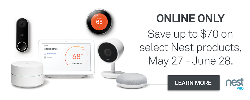 Nest Memorial Day Sale