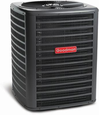 goodman gsc series split system air conditioner - 3 ton - 13 seer