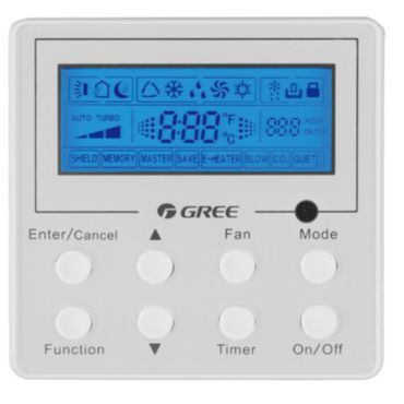 Gree Wired Controller