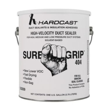 Sure Grip 404 Duct Sealant Gray 1 Gallon