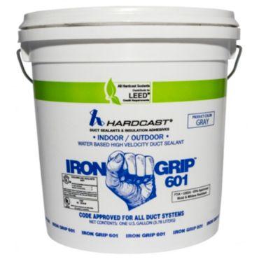 Iron Grip 601 Duct Sealant Gray 1 Gallon