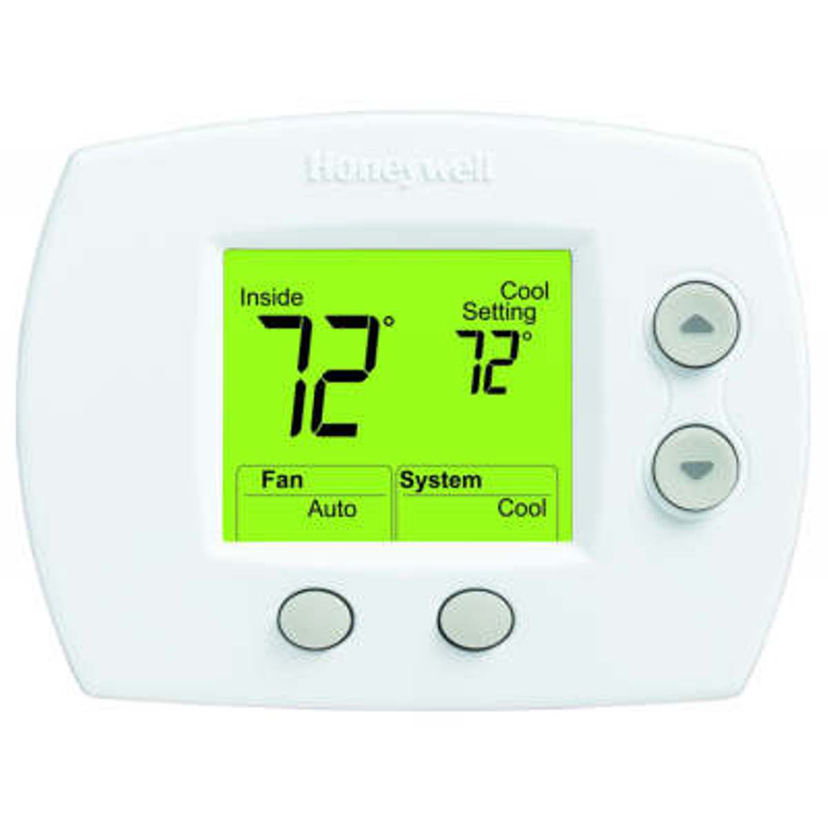 Honeywell FocusPRO™ 5000 Series 1 Heat/1 Cool Non-Programmable Digital  Thermostat with Standard Display