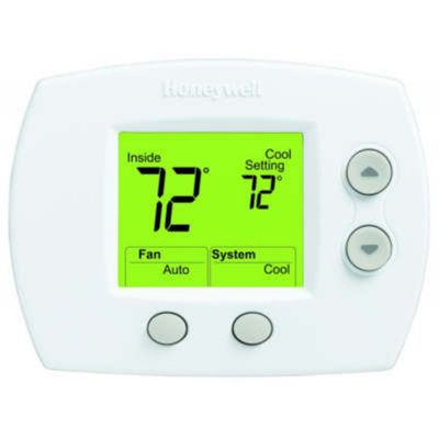 Honeywell Digital Thermostat Manual