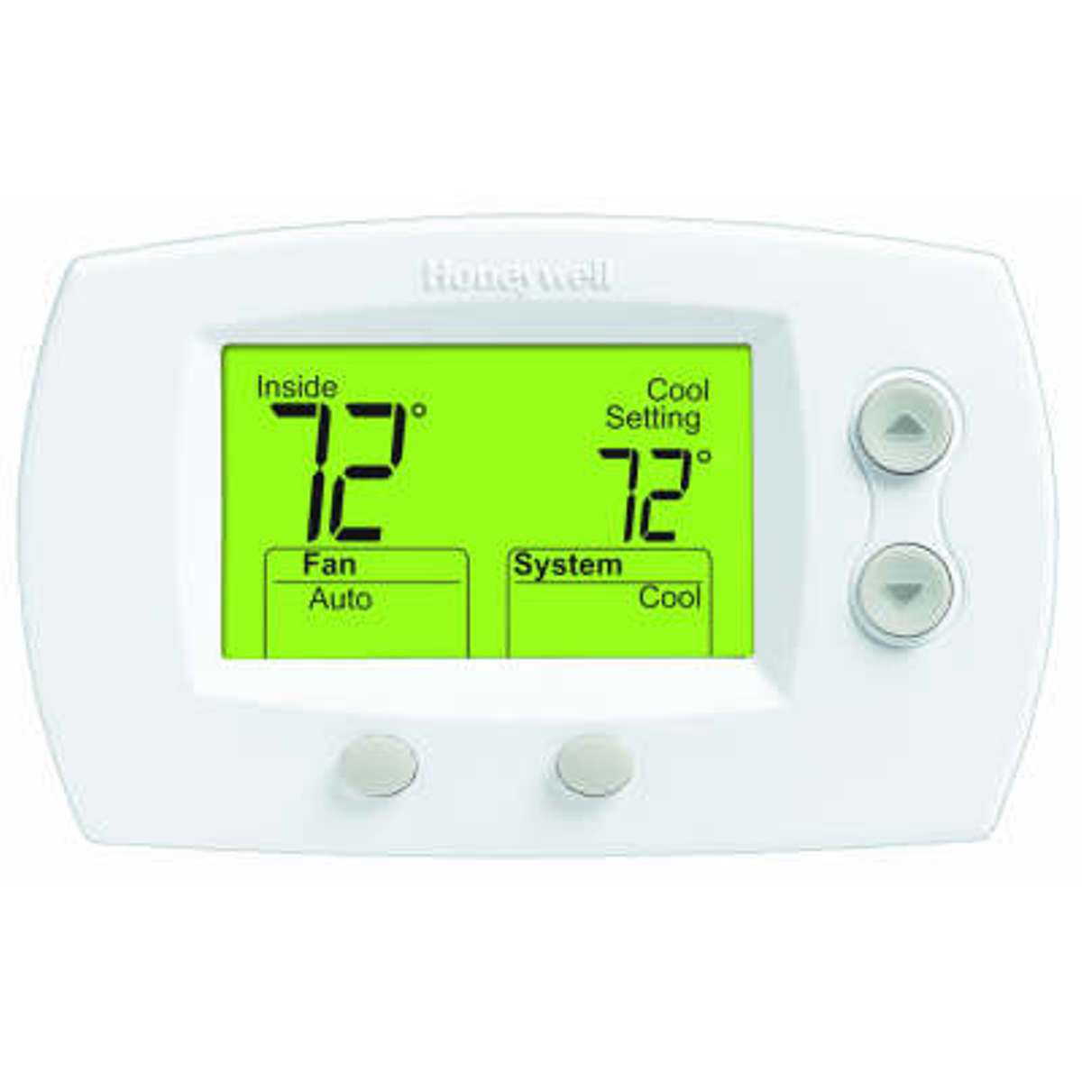 Honeywell Focuspro 5000 Series 3 Heat 2 Cool Non Programmable Pump Thermostat 1h 1c Wiring Diagrams