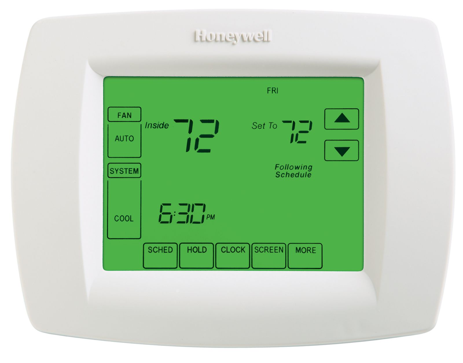 Product Highlights. The VisionPRO® 8000 programmable thermostat ...