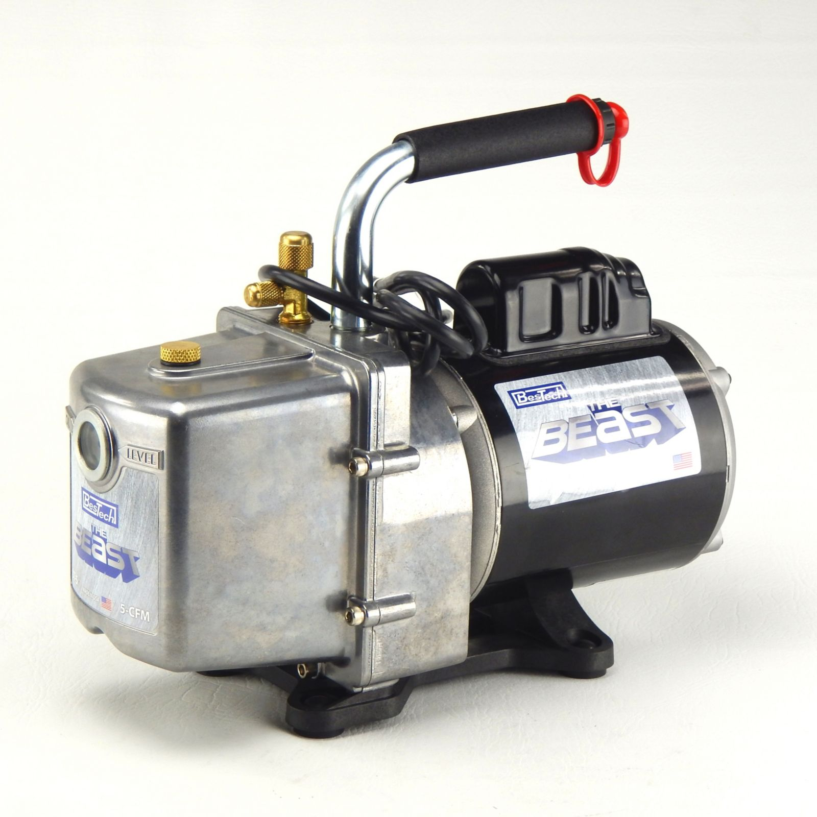 THE BEAST 2 Stage Vacuum Pump - 5cfm