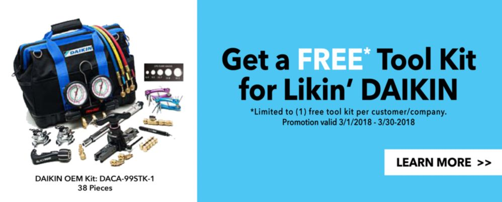 Free Toolkit for Likin Daikin