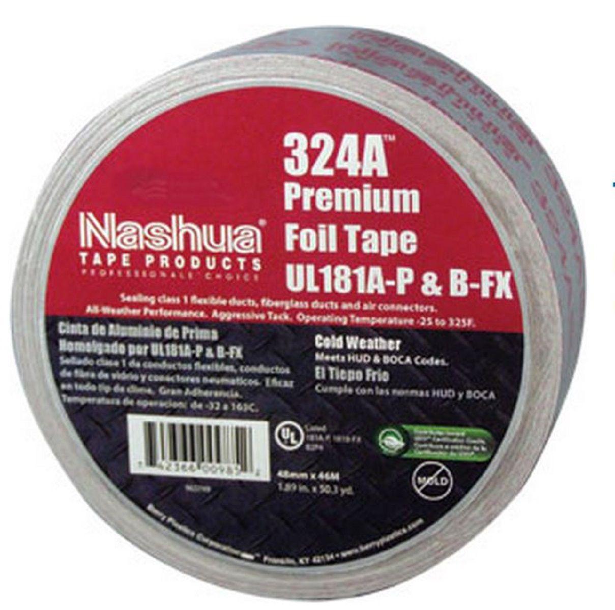 Nashua® 324A™ Premium Cold Weather Foil Tape - 3
