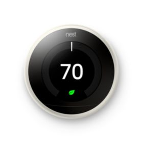 Google Nest Learning Thermostat - White