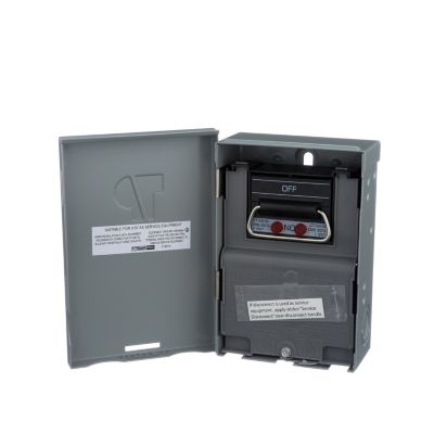 tradepro_tp 30amp_article_1389112024656_en_normal?defaultImage=ECM_No_Image&wid=1600&hei=1600&fit=constrain0& tradepro� fused pull out disconnect switch 30 amp outdoor disconnect box for ac unit at creativeand.co
