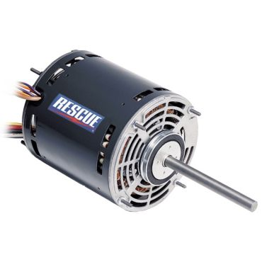 1 2 1 6 hp rescue psc direct drive fan and blower 115v for Ecm blower motor tester
