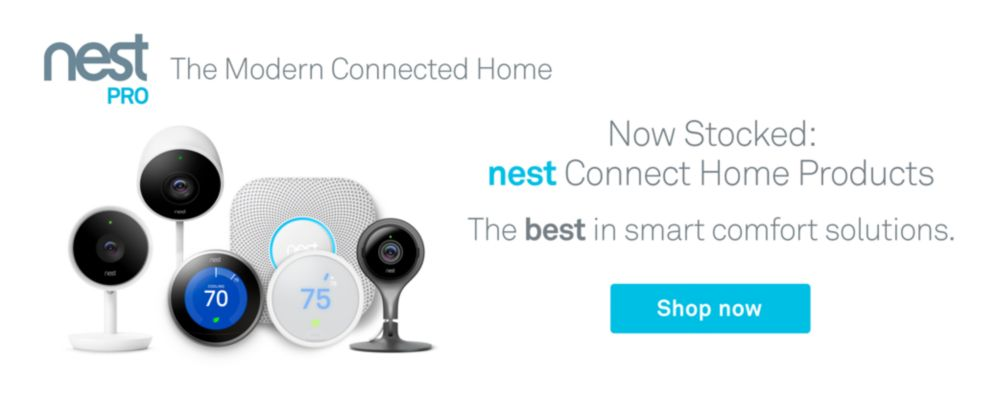 Nest Now Stocked