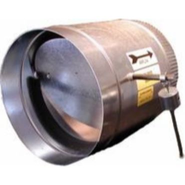 12 Quot Round Barometric Bypass Damper